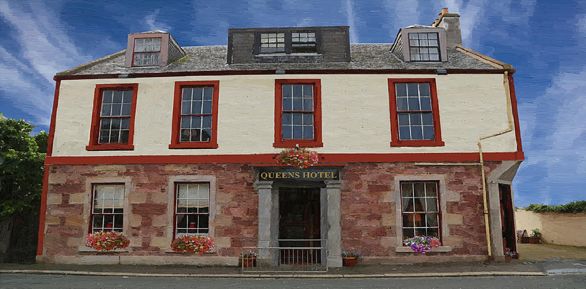 queens hotel girvan ayrshire. Black Bedroom Furniture Sets. Home Design Ideas